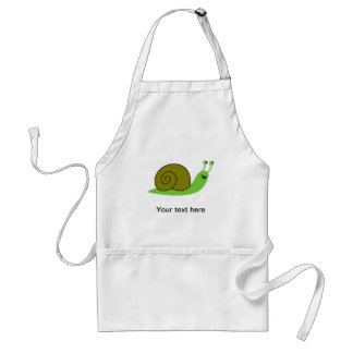 Sammy the Green Garden Snail Aprons