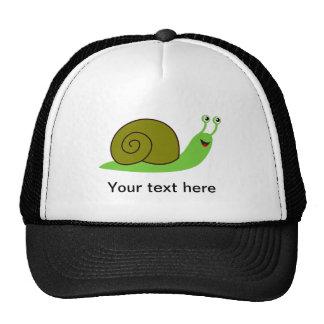 Sammy the Green Garden Snail Trucker Hat