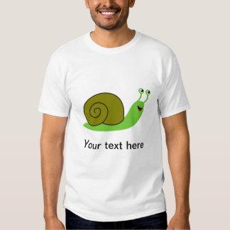 Sammy the Green Garden Snail T-shirt