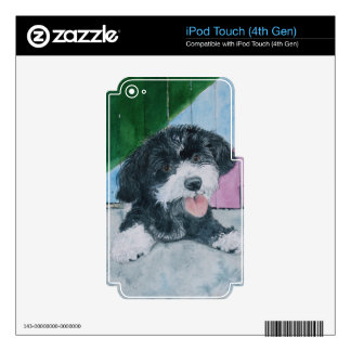 Sammy the Parti-Poodle Pup iPod Touch 4G Skin