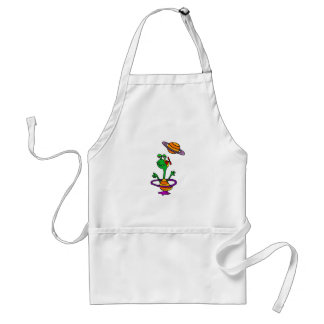 Sammy the Saturnite from Saturn Adult Apron