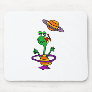 Sammy the Saturnite from Saturn Mousepad