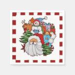 Sammy the Snowman Christmas Napkins