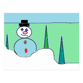 Sammy The Snowman Post Cards