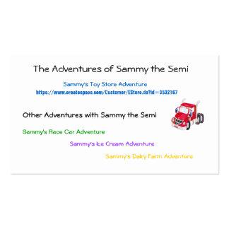 Sammy's Address Business Card Template
