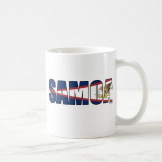 Samoa (American Samoa Flag) Mugs