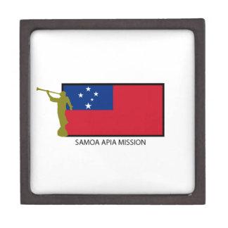 SAMOA APIA MISSION LDS CTR GIFT BOX