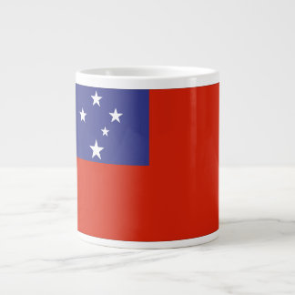 Samoa Flag Giant Coffee Mug