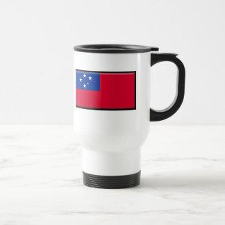 Samoa Flag Coffee Mugs