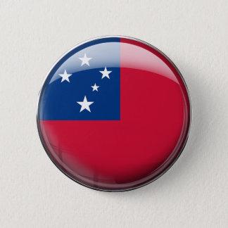 Samoa Flag Pinback Button