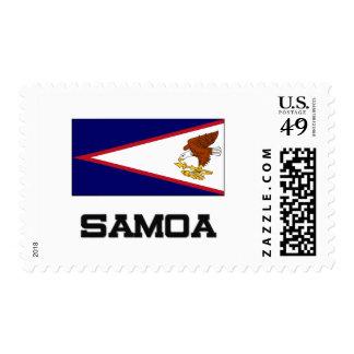 Samoa Flag Postage