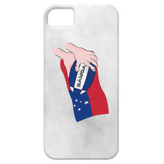 Samoa Flag Rugby Ball Pass iPhone SE/5/5s Case