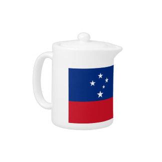 Samoa Flag Teapot