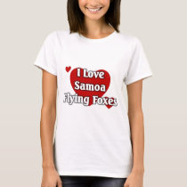 Samoa Flying Foxes T-Shirt