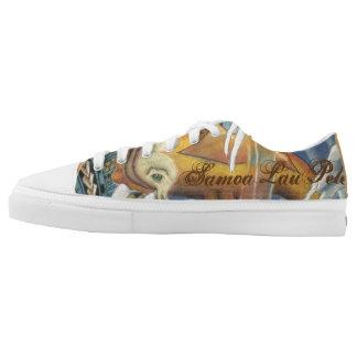 Samoa Lau Pele Low Cut Shoes with Koi Fish