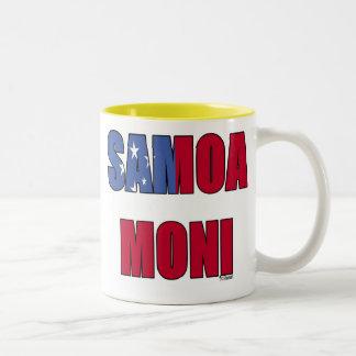 Samoa Moni (Samoa Flag) Coffee Mug