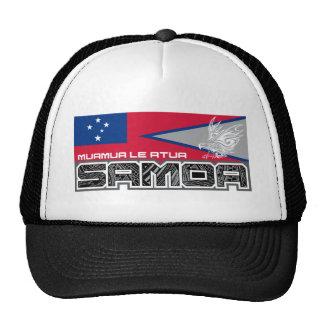 Samoa Muamua Le Atua - American Samoa / Samoa Flag Trucker Hat