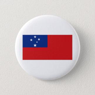 Samoa National Flag Pinback Button