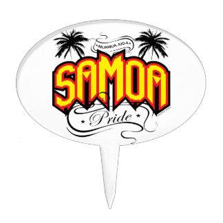 Samoa Pride Cake Pick