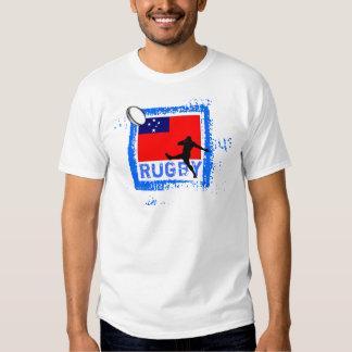 Samoa Rugby Fans T-Shirt Kick