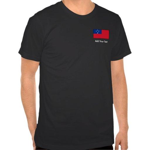 Samoa - Samoan Flag T Shirts