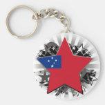 Samoa Star Key Chains