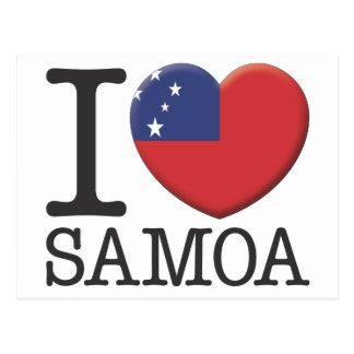 Samoa Tarjetas Postales