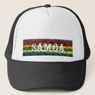 samoa tatoo trucker hat