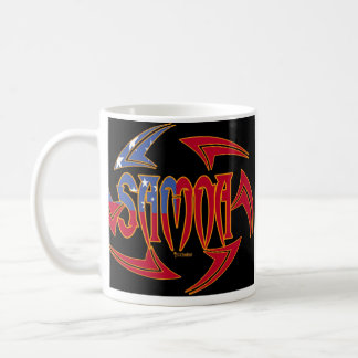 Samoa Tribal Black 2 Coffee Mug