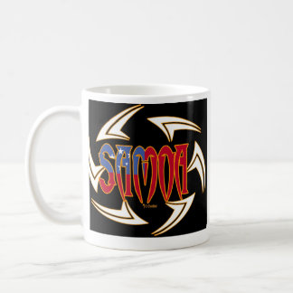 Samoa Tribal Black Coffee Mug