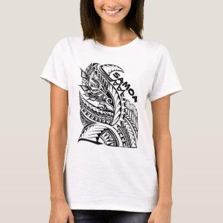 SAMOA Tribal Island Design T-Shirt