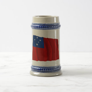 Samoa Waving Flag Beer Stein