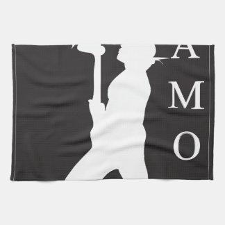 SamoaBlackWhite.ai Hand Towels
