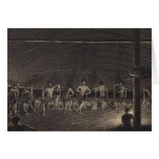 Samoan Dance Card