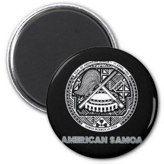 Samoan Emblem Refrigerator Magnets