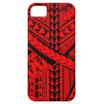 Samoan/Polynesian tribal shapes and symbols iPhone 5 Case