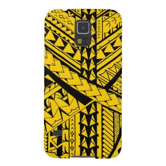 Samoan/Polynesian tribal shapes and symbols Galaxy S5 Case