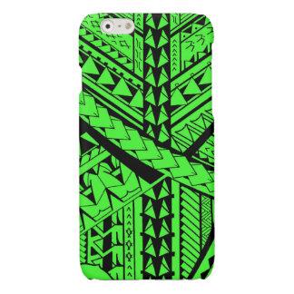 Samoan/Polynesian tribal shapes and symbols Glossy iPhone 6 Case
