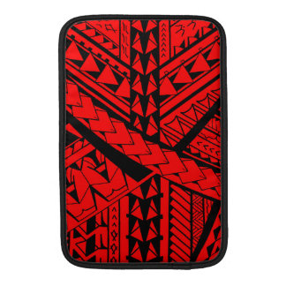 Samoan/Polynesian tribal shapes and symbols MacBook Sleeve