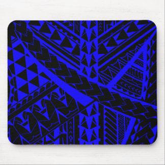 Samoan/Polynesian tribal shapes and symbols Mouse Pad