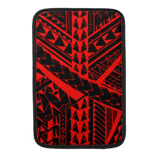 Samoan/Polynesian tribal shapes and symbols Sleeve For MacBook Air