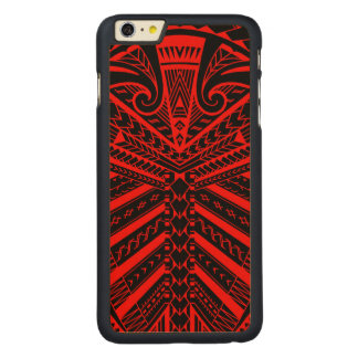 Samoan Sonny Bill Williams tattoo rugby player Carved Maple iPhone 6 Plus Case