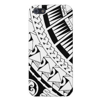 Samoan spearhead tattoo by Mark Storm iPhone SE/5/5s Case