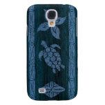 Samoan Tapa Hawaiian Surfboard Galaxy S4 Cases