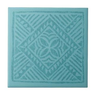 Samoan Tapa Polynesian Diamond Tile Trivets
