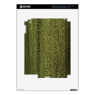 Samoan Tapa Surfboard iPad 3 or Tablet Skin iPad 3 Decals