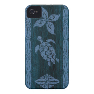 Samoan Tapa Surfboard iPhone 4 Cases