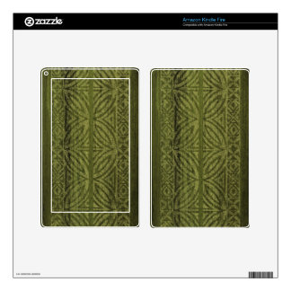 Samoan Tapa Surfboard Kindle or eReader Skin Decals For Kindle Fire