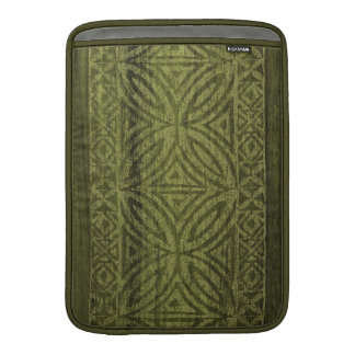 Samoan Tapa Surfboard Rickshaw MacBook Case