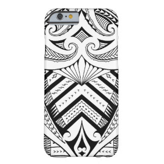 Samoan tattoo design art pattern barely there iPhone 6 case